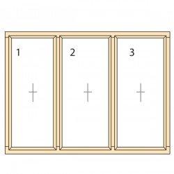 Прозорци и врати от дърво IV78-3