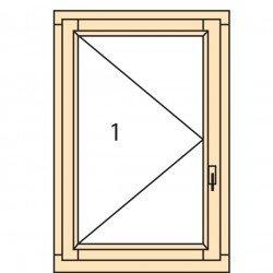 Прозорци и врати от дърво IV78-4