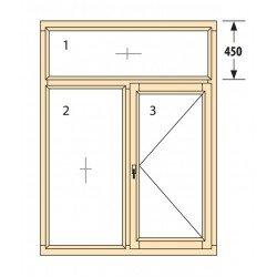 Прозорци и врати от дърво IV78-10