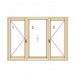 Прозорци и врати от дърво IV78-13