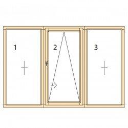 Прозорци и врати от дърво IV78-18