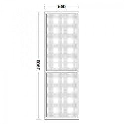 Комарник за врата 60/190см