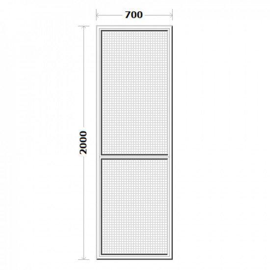 Комарник за врата 70/200см