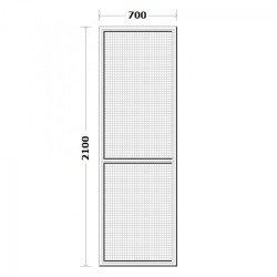 Комарник за врата 70/210см