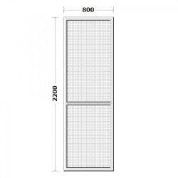 Комарник за врата 80/220см