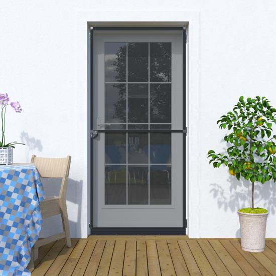 Мрежа против насекоми за врата Стандарт цвят RAL