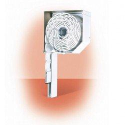 Външна ролетна алуминиева щора – РОЛПЛАСТ мини с комарник