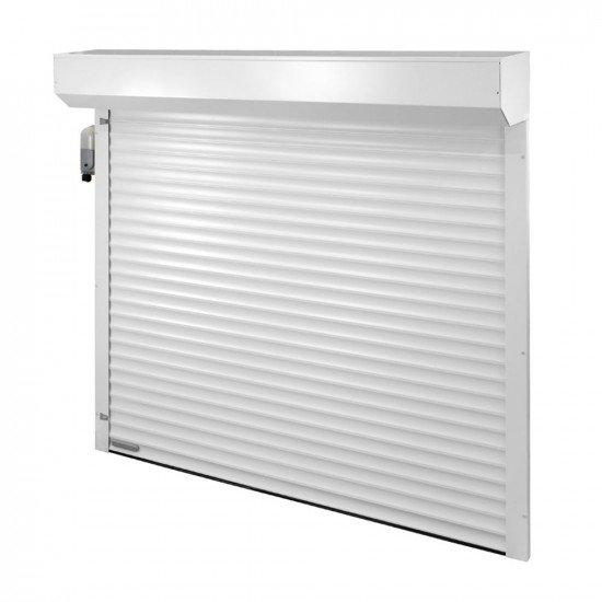 Гаражна врата с алуминиева ламела H55MM-001