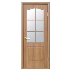 Интериорна врата със стъкло Стил Анатолия – цвят Златен дъб