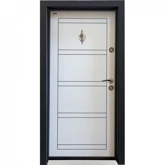 Блиндирана врата Паркдор СЛ-102 Бяла перла